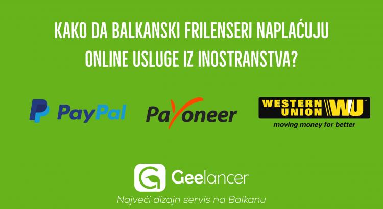 Geelancer Balkan naplata preko interneta blogpost